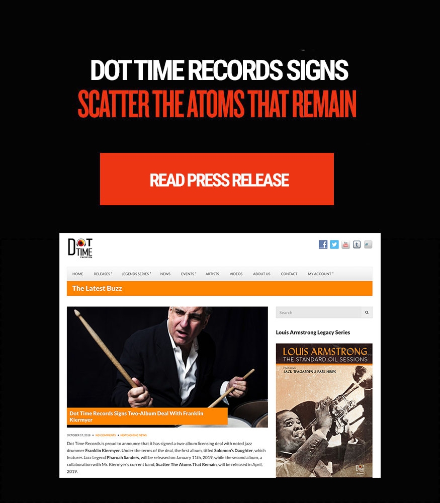 Dot Time Records Signs Scatter the Atoms That Remain